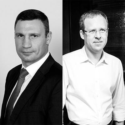 Vitalii Klitschko & Iurii Nazarov